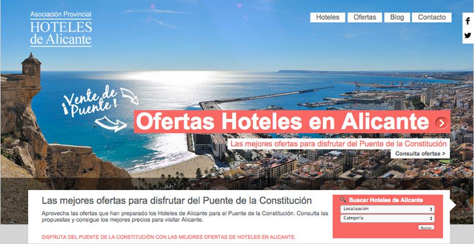 Asociación de Hoteles de Alicante | Puentes en Alicante